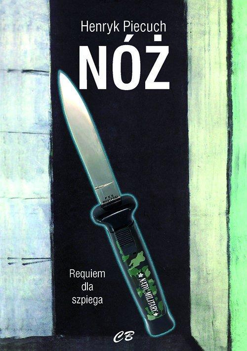 Nóż. Requiem dla szpiega - okładka książki