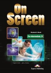 On Screen Pre-Intermediate B1 SB - okładka podręcznika