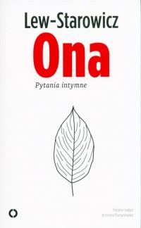 Ona. Pytania intymne - okładka książki
