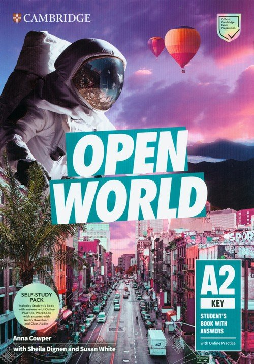 Open World Key Self Study Pack. - okładka podręcznika