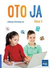 Oto Ja. Edukacja informatyczna. - okładka podręcznika