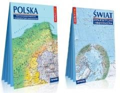 Pakiet: Comfort! map Świat + Polska - okładka książki