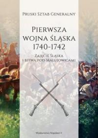 Pierwsza wojna śląska 1740-1742 - okładka książki