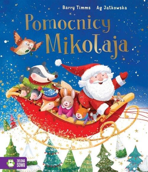 Pomocnicy Mikołaja - okładka książki