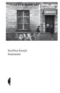 Poniemieckie - okładka książki