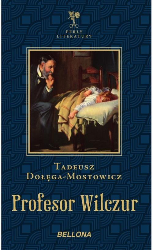 Profesor Wilczur. Seria: Perły - okładka książki