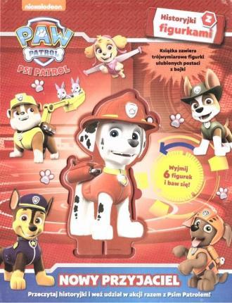 Psi Patrol. Historyjki z figurkami.Nowy - okładka książki