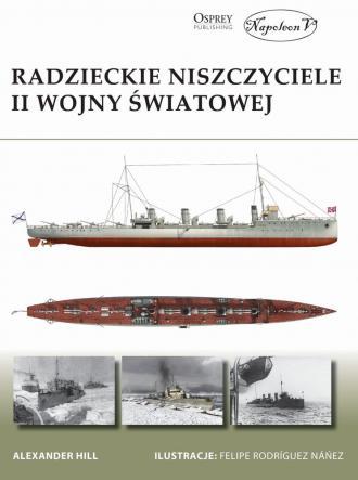 Radzieckie niszczyciele II wojny - okładka książki