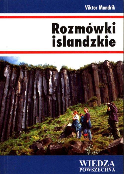 Rozmówki islandzkie - okładka podręcznika