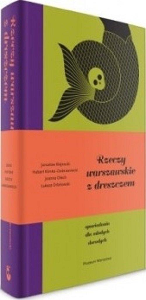 Rzeczy warszawskie z dreszczykiem - okładka książki