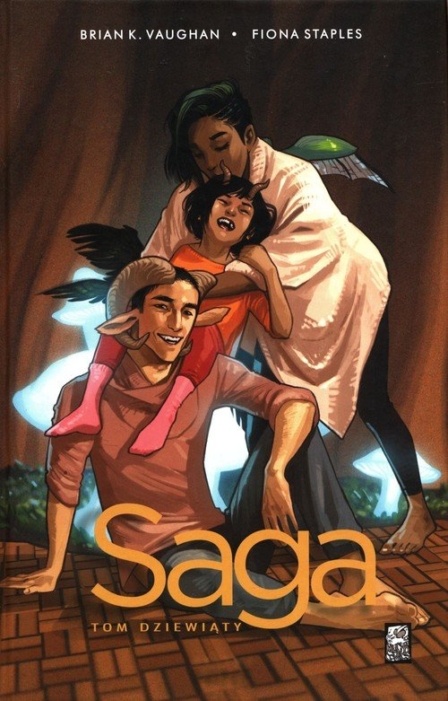 Saga. Tom 9 - okładka książki