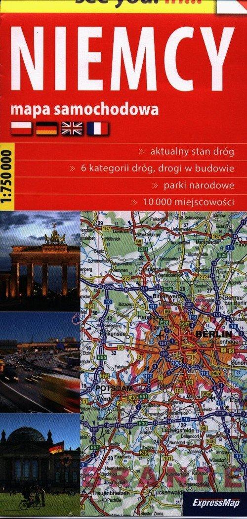 See you! in... Niemcy 1:750 000 - okładka książki