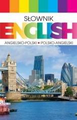Słownik English angielsko-polski, - okładka podręcznika