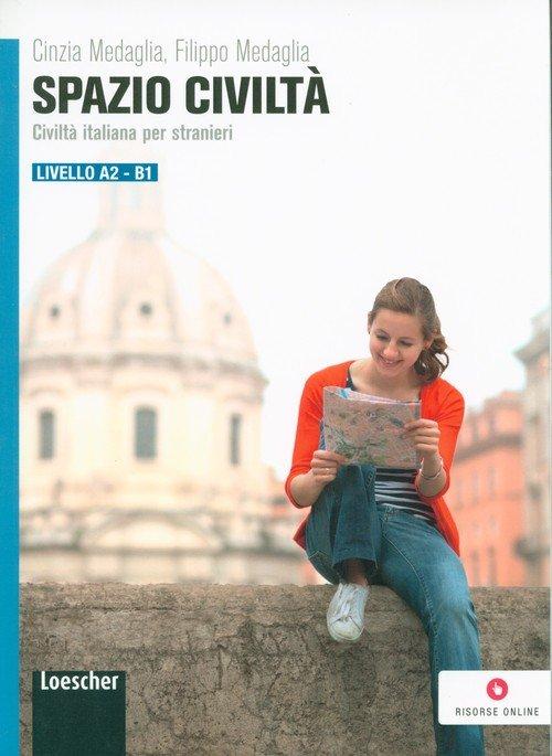 Spazio Civilta Livello  A2/B1 - okładka podręcznika