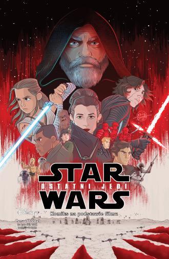 Star Wars. Ostatni Jedi - okładka książki