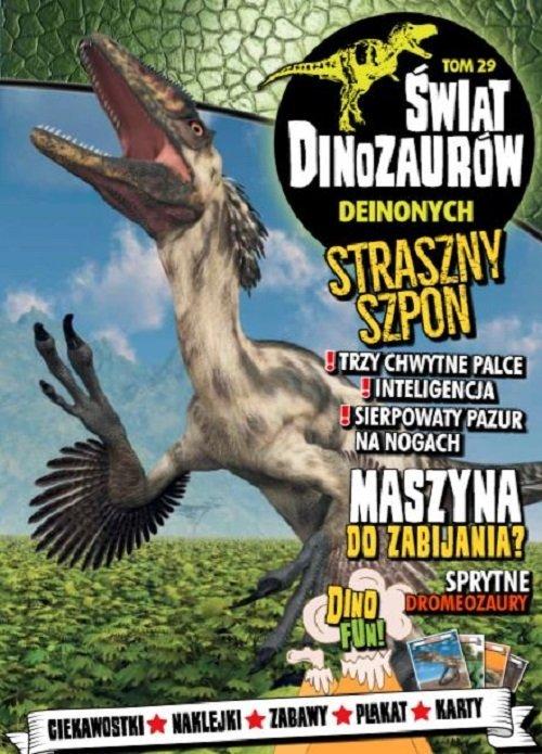 Świat Dinozaurów. Tom 29. Deinonych - okładka książki