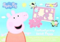 Świnka Peppa. Fantastyczny świat - okładka książki