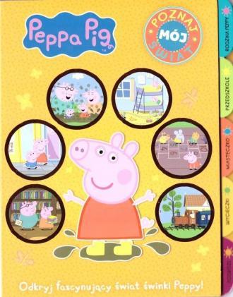 Świnka Peppa. Poznaj mój świat - okładka książki