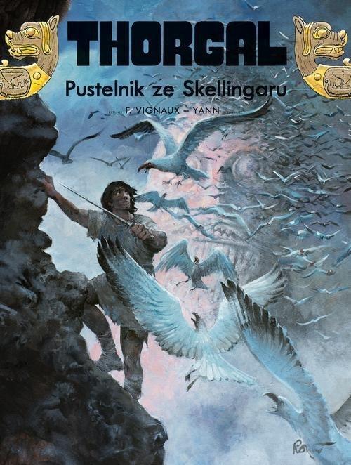 Thorgal. Pustelnik ze Skellingaru - okładka książki
