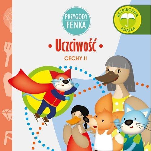 Uczciwość Przygody Fenka / Sobik - okładka książki