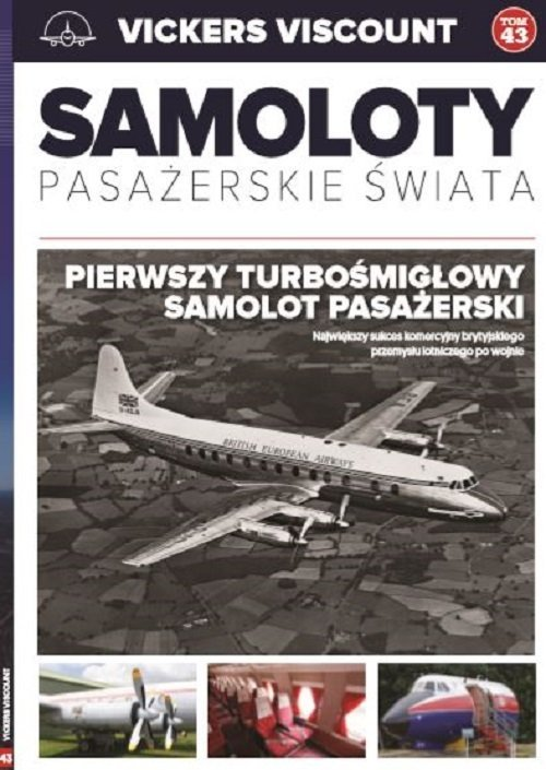 Vickers Viscount. Samoloty pasażerskie - okładka książki