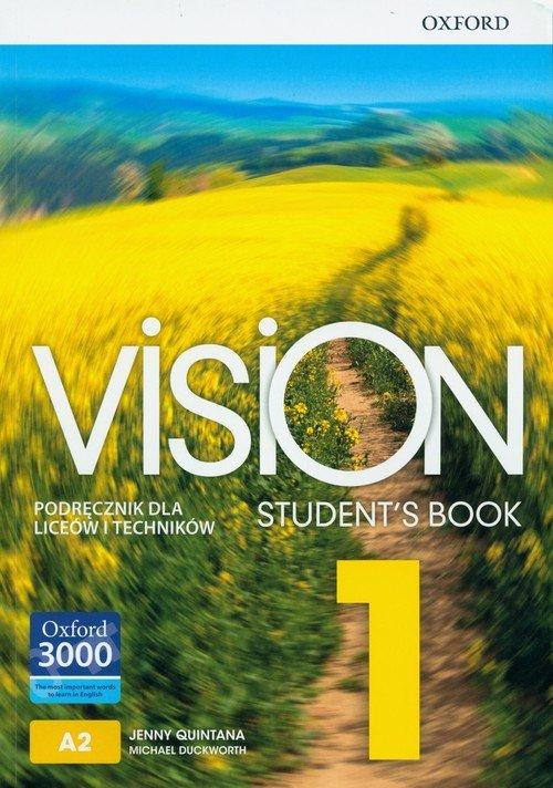 Vision 1 SB OXFORD (+ CD) - okładka podręcznika