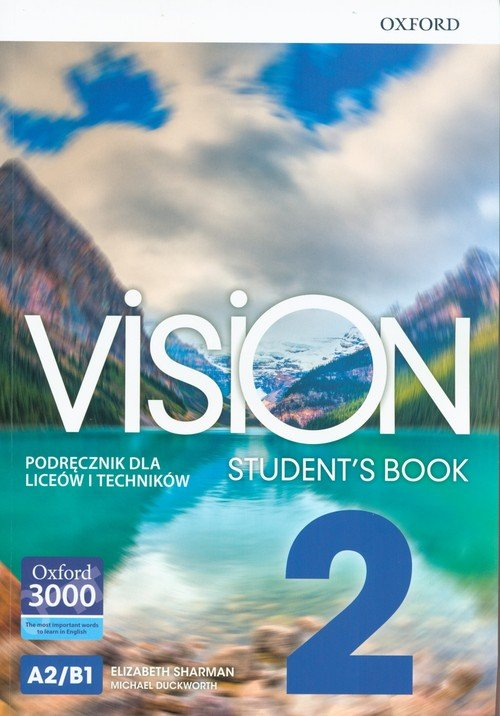 Vision 2 SB OXFORD (+ CD) - okładka podręcznika