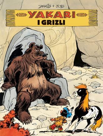 Yakari i grizli. Tom 5 - okładka książki