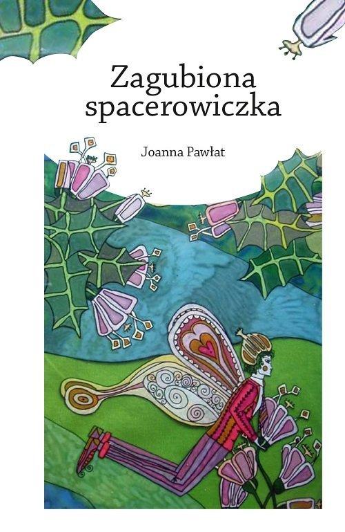 Zagubiona spacerowiczka - okładka książki