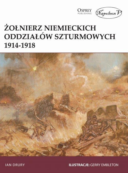 Żołnierz niemieckich oddziałów - okładka książki