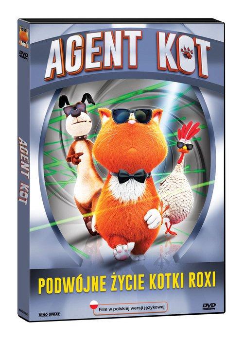 Agent Kot (DVD) - okładka filmu