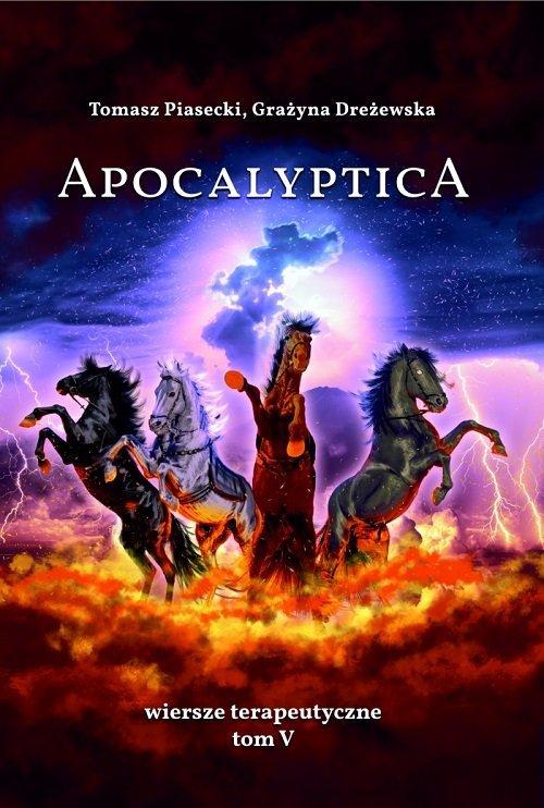 Apocalyptica Wiersze terapeutyczne - okładka książki