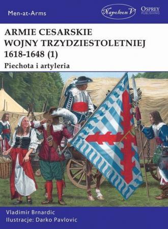 Armie cesarskie wojny trzydziestoletniej - okładka książki