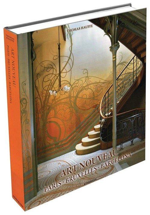 Art Nouveau - Paris, Bruxelles, - okładka książki