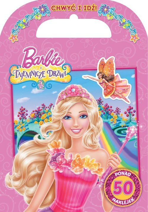 Barbie i tajemnicze drzwi. Chwyć - okładka książki