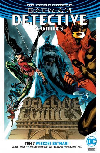 Batman Detective Comics. Tom 7. - okładka książki
