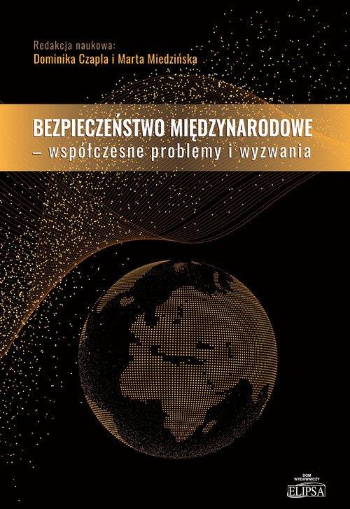 Bezpieczeństwo międzynarodowe - - okładka książki