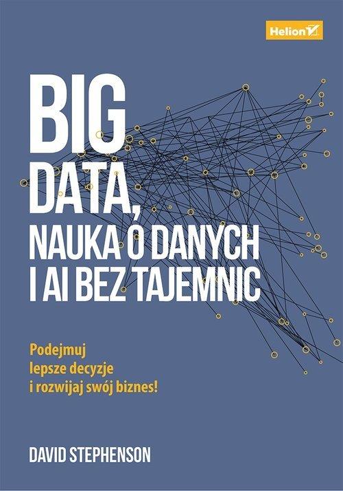 Big data, nauka o danych i AI bez - okładka książki