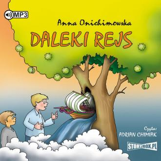 Daleki rejs (CD mp3) - pudełko audiobooku