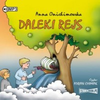 Daleki rejs (CD mp3) - pudełko audiobooku