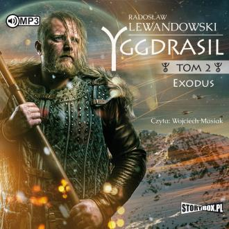 Exodus. Yggdrasil. Tom 2 (CD mp3) - pudełko audiobooku