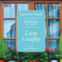 Listy i szepty. Mansarda pod Aniołami. - pudełko audiobooku
