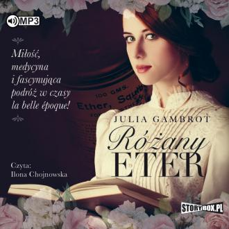 Różany eter (CD mp3) - pudełko audiobooku