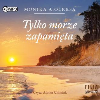 Tylko morze zapamięta (CD mp3) - okładka książki