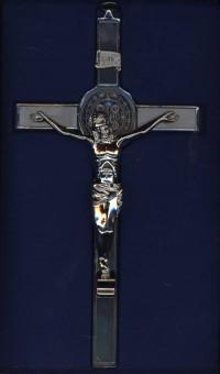 Cudowny krzyż św. Benedykta (ścienny, - zdjęcie