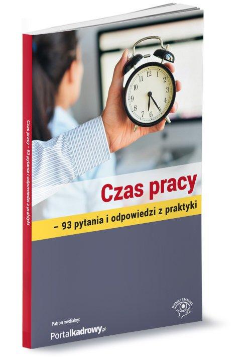 Czas pracy. 93 pytania i odpowiedzi - okładka książki