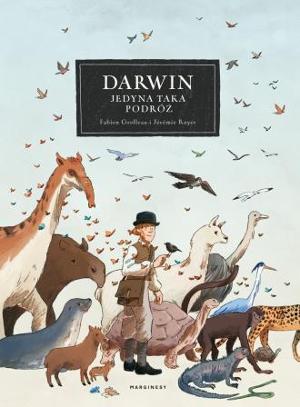 Darwin. Jedyna taka podróż - okładka książki