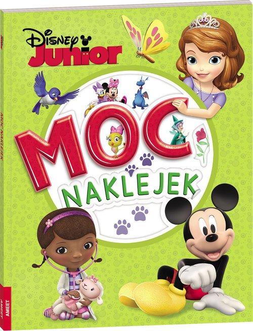 Disney Junior. Moc naklejek - okładka książki