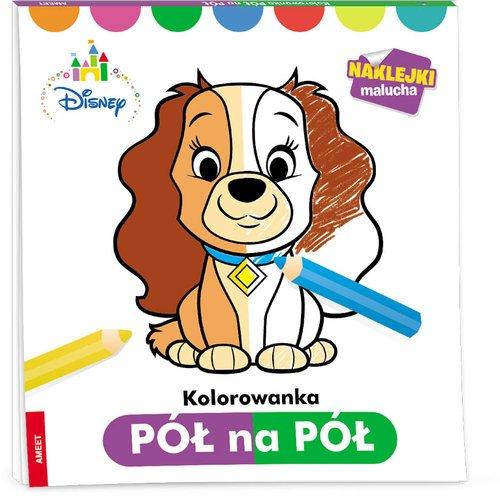 Disney Maluch Kolorowanka pół na - okładka książki