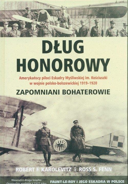 Dług honorowy - okładka książki